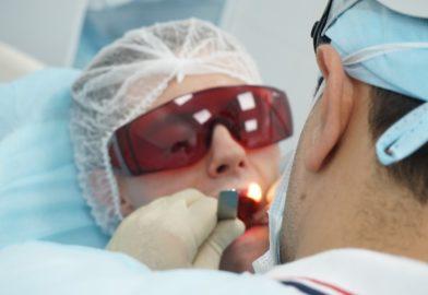 Лазерное лечение тонзиллитов
